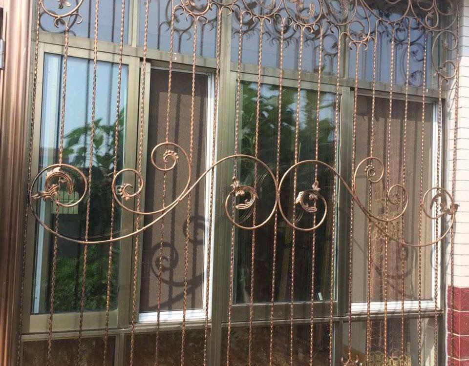 铁艺护窗THC201602(安居幸福里)