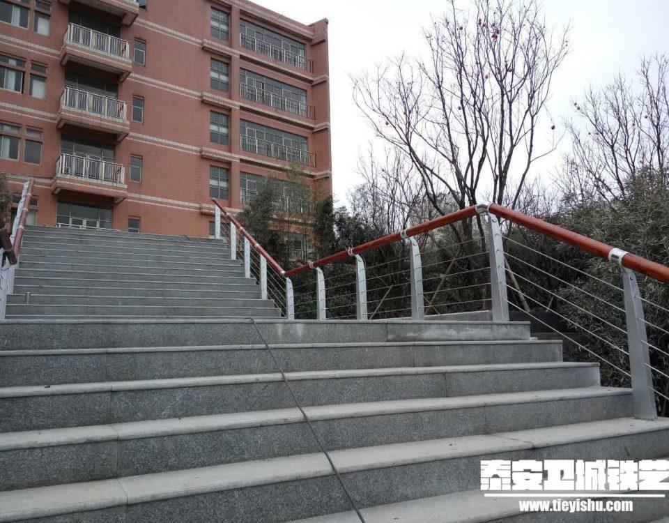 铁艺扶手TFS201631-山东大学二环南路校区