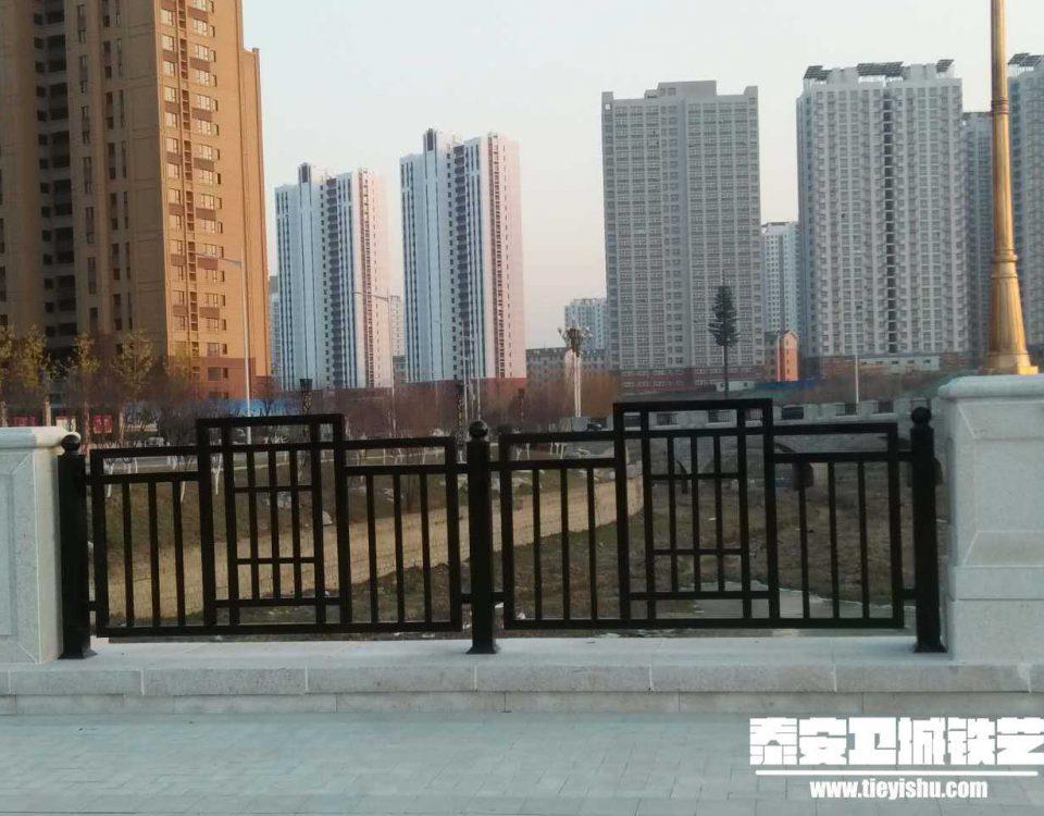 铁艺护栏TWHL201619-泰安开元首府项目-桥面护栏