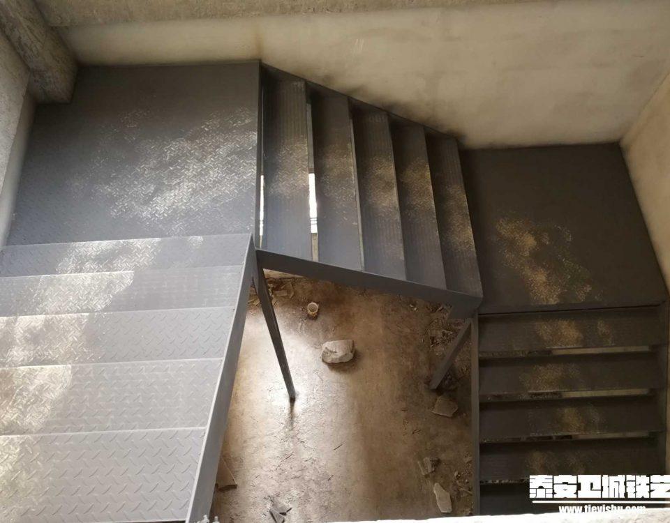 钢构楼梯GGT201617-泰安中悦城项目