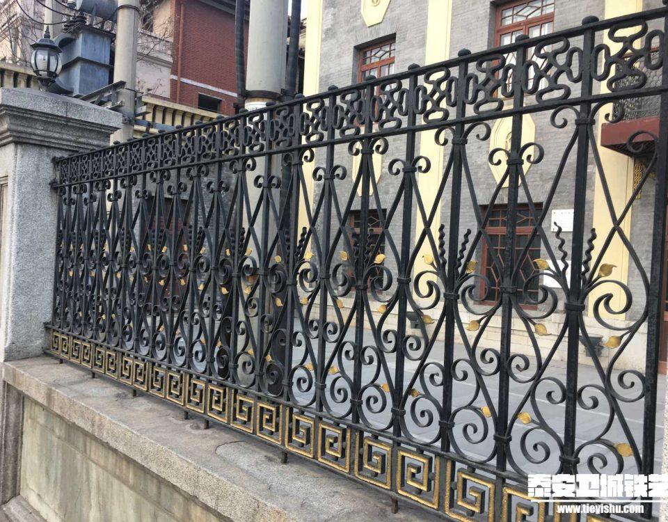 铁艺围栏\铁艺围墙TW201653-案例赏析-实景拍摄