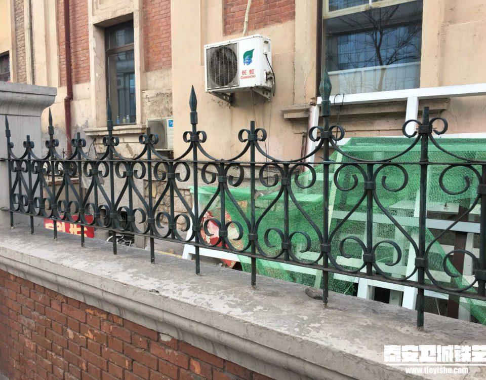 铁艺围栏\铁艺围墙TW201656-案例赏析-实景拍摄