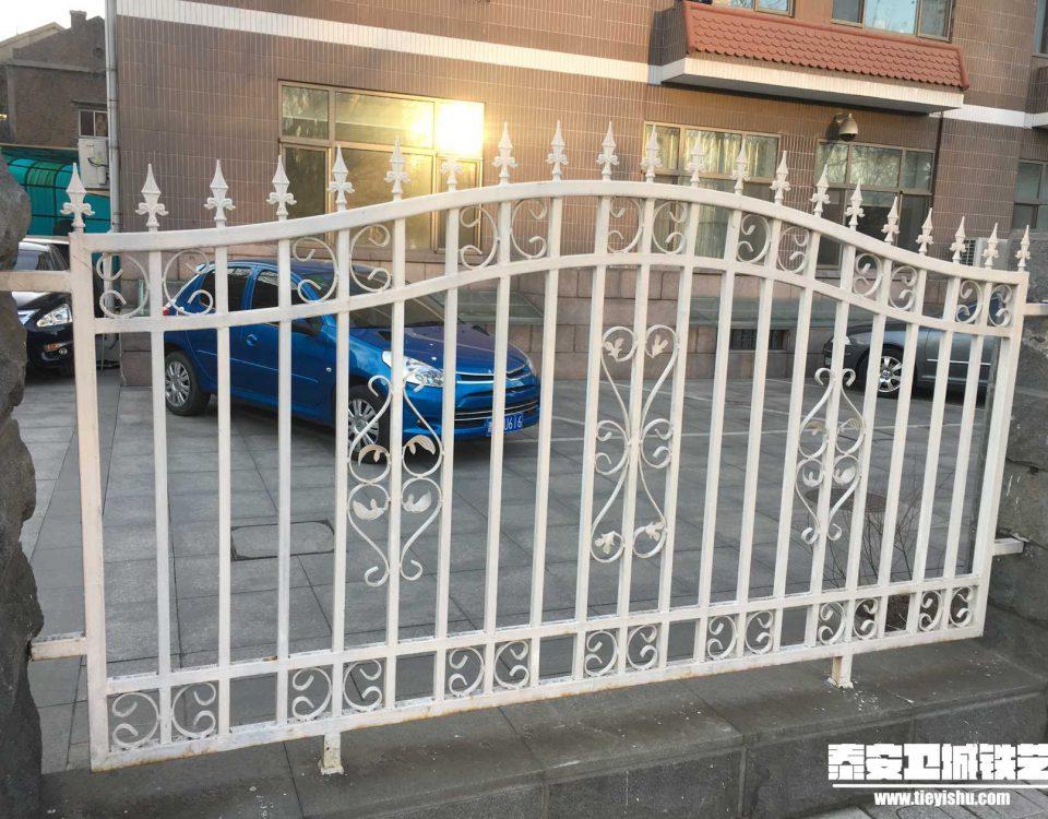 铁艺围栏\铁艺围墙TW201660-案例赏析-实景拍摄