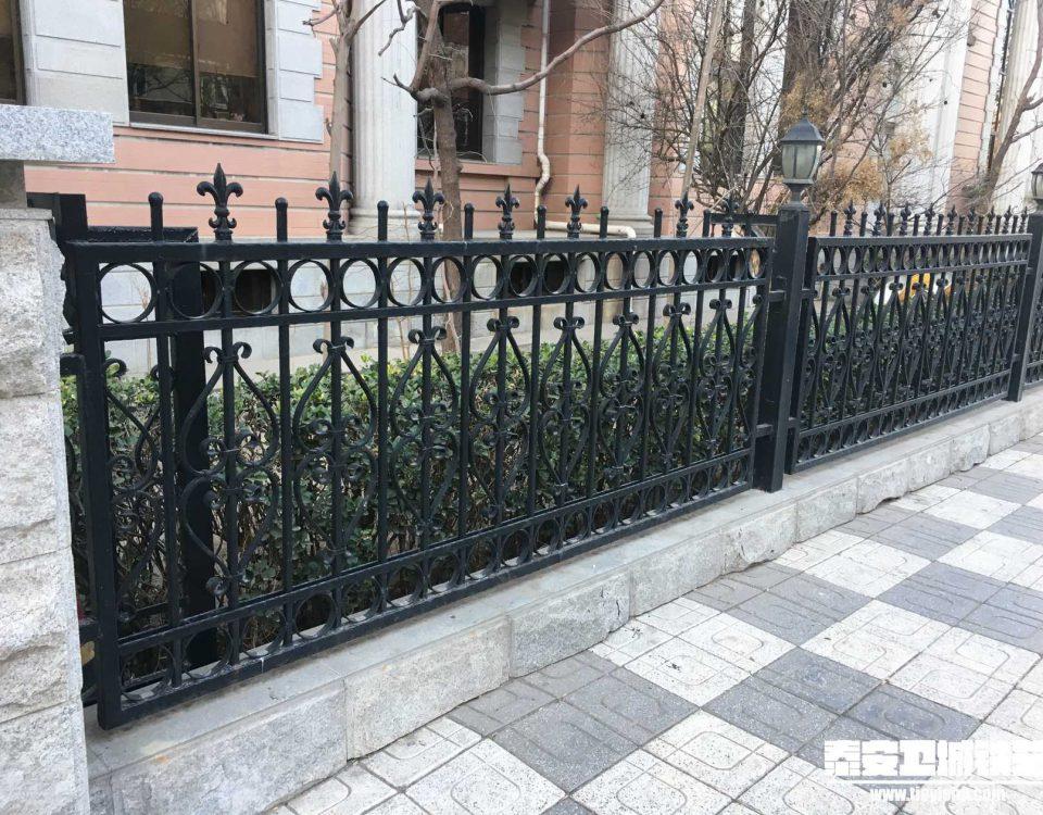 铁艺围栏\铁艺围墙TW201661-案例赏析-实景拍摄